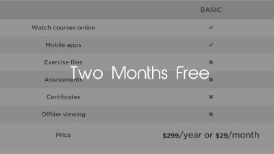 pluralsight basic annual discount