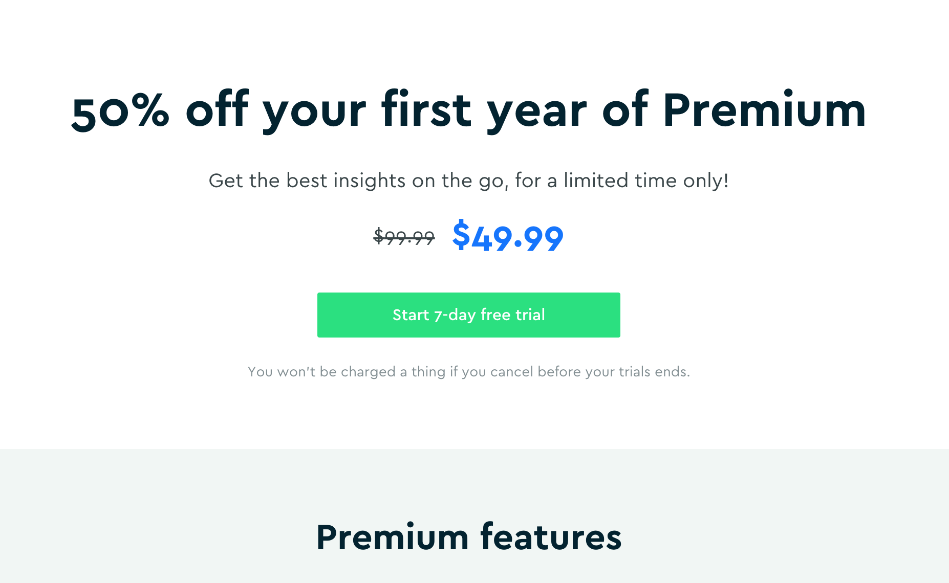 [50% Off] On Yearly Blinkist Premium Subscription