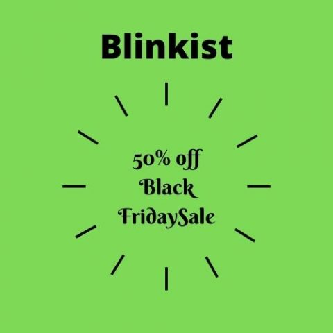Blinkist black friday