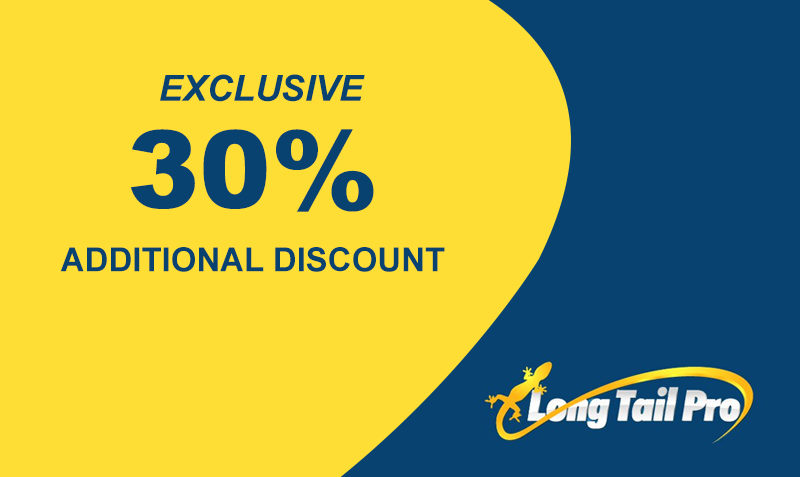 Longtail pro 30% Off coupon