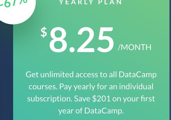datacamp coupons