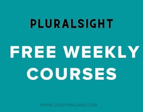 free weekly pluralsight