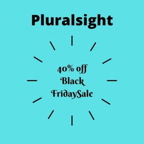 pluralsight black friday
