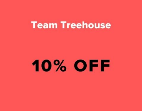 team treehouse coupon